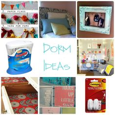 dorm room and college ideas and reminders