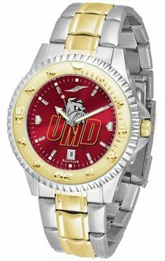Minnesota Duluth- University Of Competitor Anochrome - Two-tone Band - Men's - Men's College Watches by Sports Memorabilia. $95.43. Makes a Great Gift!. Minnesota Duluth- University Of Competitor Anochrome - Two-tone Band - Men's