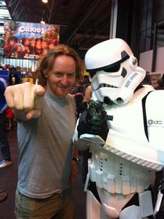 Two of my many favorite things, Defiance and Star Wars! (Syfy forever)