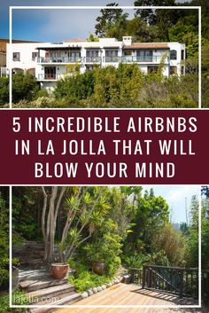 The hotels in La Jolla are tough to beat – beautiful, luxurious, and panoramic views for miles. But there is something to be said for the unique, home-away-from-home aspect of an Airbnb in La Jolla; especially when they are as jaw-dropping as some of the rentals we found in the heart of the Village!