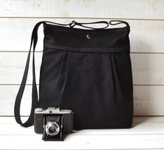 Chat Noir  / WATER PROOF Extra Large  Diaper bag / Baby by ikabags, $79.00