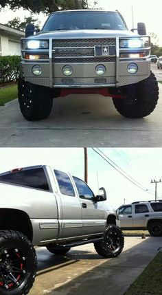 Chevy truck its pretty !!(: