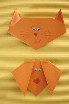 Kids Craft Paper Animals / melrose.co.za