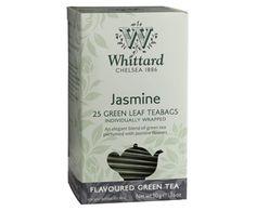 Tes Whittard of Chelsea - Tienda gourmet online Flavoured Green Tea, Whittard Of Chelsea, White Leaf, Perfume, Coffee, Drink, Tes, Kaffee, Beverage