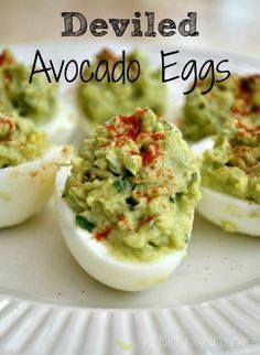 These deviled avocad These deviled avocado eggs are an amazing...  These deviled avocad These deviled avocado eggs are an amazing healthy alternative to traditional deviled eggs.   wwwToSimplyInspir Recipe : http://ift.tt/1hGiZgA And @ItsNutella  http://ift.tt/2v8iUYW