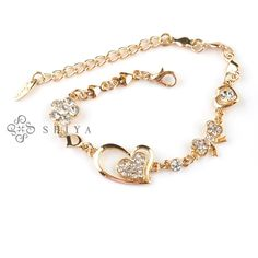 simple gold bracelets for girls - Google Search