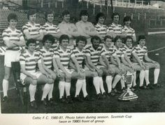Celtic F.C. 1980 - 81 Celtic Fc, Glasgow, Scotland, Football, Club, Big, Places, Green, People