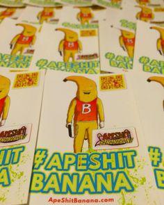 ApeShit Bananarang crew invades new yawk with stickers!!  Watch the movie: https://youtu.be/4nvSCiRIjlA #ApeShitBanana #ShortFilm #MusicVideo #NYC #Stickers #Marketing #Advertising