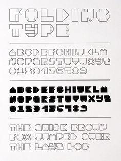 Folding type #paper