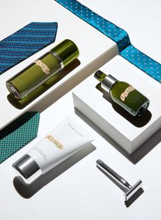 Spruce up with men's shaving essentials. Grooming is always an option with La…