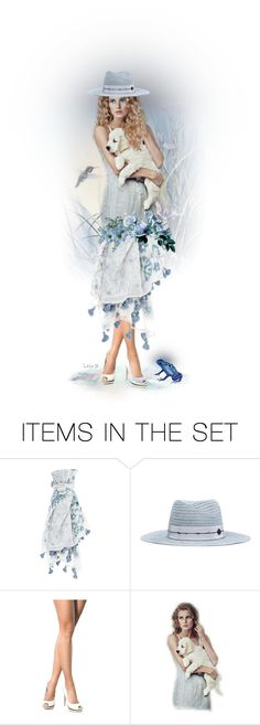 """""""Something Blue"""" by laila-bergan ❤ liked on Polyvore featuring art"""