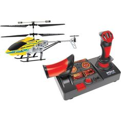World Tech Toys 35922 3.5-Channel 2.4Ghz Nano Hercules Helicopter