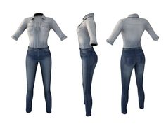 1d8ce8beec56 WEEKEND SALE - SAVE %70 - 100L ONLY DURING THE WEEKEND Full Perm MI Mesh  Denim On Denim Outfit