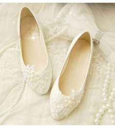 Shop for and buy the Romantic Wedding Flats XF_L059 at WardrobeShop.com. $138 Discounted for you! Click or call 323-592-9172 for more info.