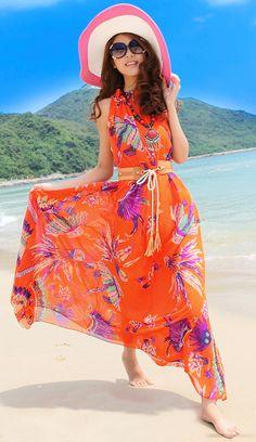 Chiffon Beach Dress
