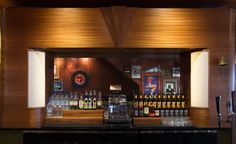 Pop's San Francisco: Back Bar -  Designer: zero ten design -  Image courtesy Molly DeCoudreaux