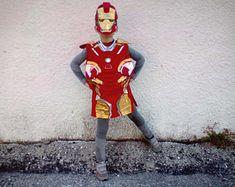 a68dfd1b7db Iron man handmade felt costume for boys Κοστούμια Cosplay, Marvel Comics,  Ironman