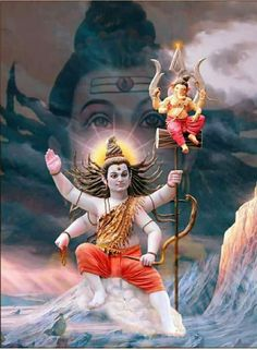 Maha Shivaratri is a Hindu festival celebrated annually in honour of Lord Shiva, and in particular, marks the day of the consummation of marriage of Shiva. Shri Ganesh Images, Shiva Parvati Images, Shiva Hindu, Ganesha Pictures, Shiva Shakti, Hindu Art, Durga Images, Hindu Deities, Lord Ganesha Paintings