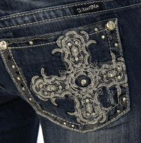 Bootcut Jean in MK 125 by Miss Me - Miss Me Jeans – Miss Me Clothing – Miss Me – TheDenimShop.com