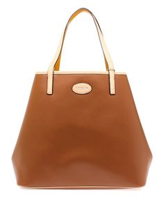 Look what I found on #zulily! Saddle Brown Park Metro Leather Tote by Coach #zulilyfinds