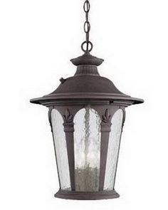 Designers Fountain Lighting 2844 AG Four Light Exterior Outdoor Hanging Lantern in Antique Gold Finish