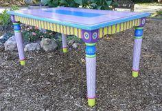 Whimsical dinner table