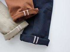 Selvedge Duck Canvas Chinos