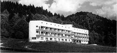 Sanatoriu Tuberculoza Cheile Râșnoavei - Arh. Marcel Iancu - anii '30 (R.A. 1939) - Din anii '60 a fost sanatoriu de recuperare aviatori
