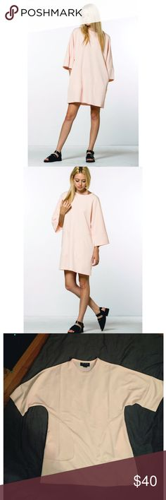 The Fifth Tee Dress 😛 AMAZING NWOT dress from Saks brand The Fifth. Perfect pale pink summer color!!! Great price for this dress brand new Saks Fifth Avenue Dresses