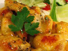 鶏むね肉のハニーマヨマスタード焼き♡の画像
