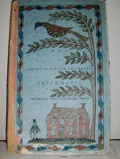 Early book with added watercolor decoration by Steve Shelton. (SOLD)