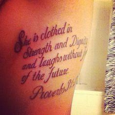 My rib tattoo for motivation