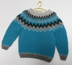 Made to order Icelandic wool sweater jumper handmade toddler unisex lopapeysa Icelandic sweater