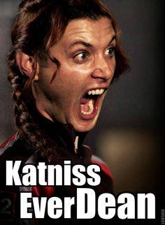Katniss Everdeen/ Everdean/ Ever Dean! #Supernatural #DeanWinchester
