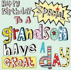 Grandsonpoemhappybirthdaysquaresticker happy birthday to our nicholas m4hsunfo