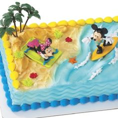 Beach Cakes Beaches And Cakes On Pinterest