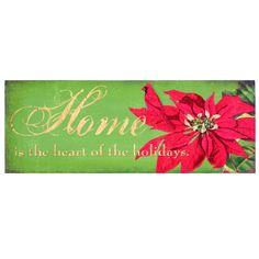 Inspirational Holiday Word Sign Christmas Decoration Set of 3