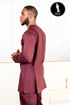 African Wear Styles For Men, African Attire For Men, African Clothing For Men, African Dresses For Women, African Print Shirt, African Shirts, Nigerian Men Fashion, African Men Fashion, Afro Men