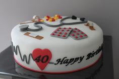 Verpleegster cake