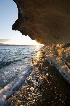 Gabriola Island, BC near #Nanaimo - the sandstone cliffs are amazing! #exploreBC #vancouverisland