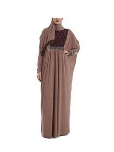 One Piece Prayer Dress 547 | Muslim Prayer Clothes & Prayer Outfit | Islamic Boutique