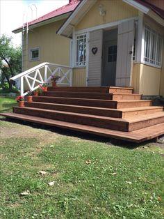 Ulkoportaat Exterior Stairs, Ranch, Entrance, Joy, Outdoor Decor, Summer, Home Decor, House, Outdoor Stairs