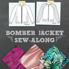 If you haven't joined our Bomber Jacket Sew-along group on Facebook yet, we'd love to have you! Come chat with us! A bomber jacket is not the kind of project that needs a lot of fitting. That's one...