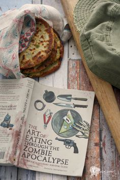February 18: Guerrilla Scallion Pancakes recipe + Bug-Out Bag preview from THE ART OF EATING THROUGH THE ZOMBIE APOCALYPSE by Lauren Wilson, shared via @girlichef.