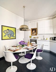 Parisian chic doesn't even begin to cover this stylish apartment in the city of light.