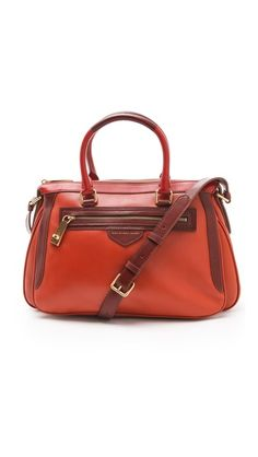 Want this - Marc by Marc Jacobs The Ziplocker Lo Satchel