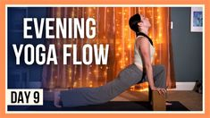 15 min Evening Yoga Flow – Day #9 (HIPS & HAMSTRINGS STRETCH) - YouTube Flexibility Routine, Yoga For Flexibility, Youtube Workout Videos, Become A Yoga Instructor, Yin Yoga Sequence, Living Yoga, Home Yoga Practice, Yoga For Stress Relief, Online Yoga Classes
