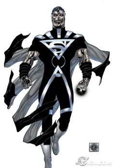 Black Lantern Superman (Blackest Night) (Kal-El) (Clark Kent)
