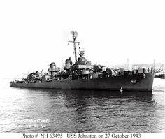 USS Johnston (DD 557)