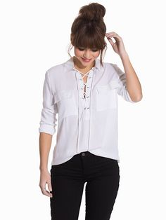 Nelly.com: Forest Shirt - NLY Trend - women - Offwhite. New clothes, make - up and accessories every day. Over 800 brands. Unlimited variety.